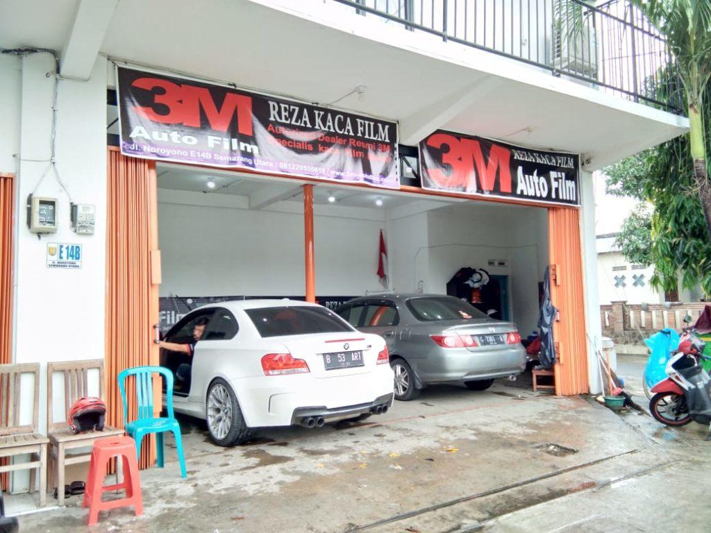 bengkel reza kaca film 3M di Semarang